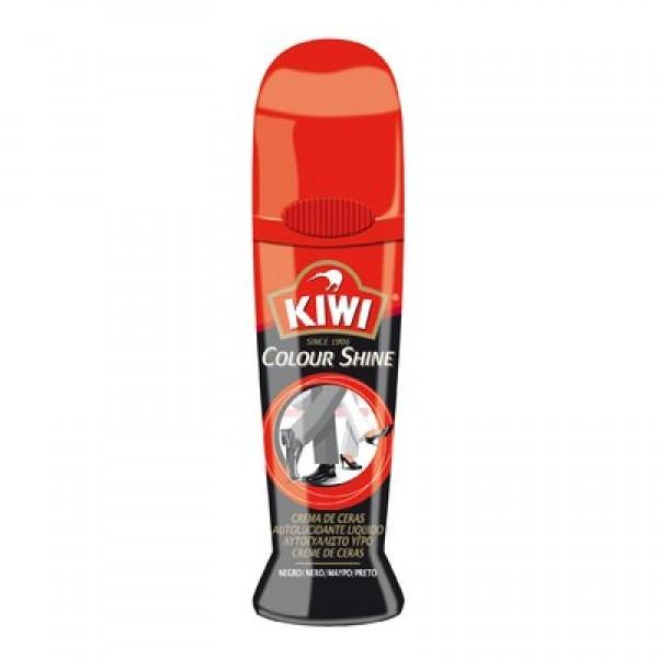 Kiwi crema de ceras calzado negro 75ml