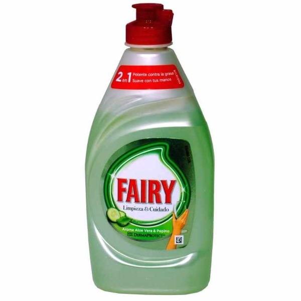 Fairy lavavajillas aloe vera y pepino 350 ml