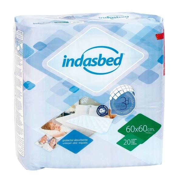Indasbed protector camas 60 x 60 20 u