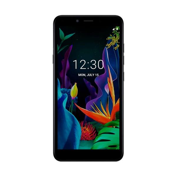 Lg k20 negro móvil 4g dual sim 5.45'' ips vga+/4core/16gb/2gb ram/8mp/5mp
