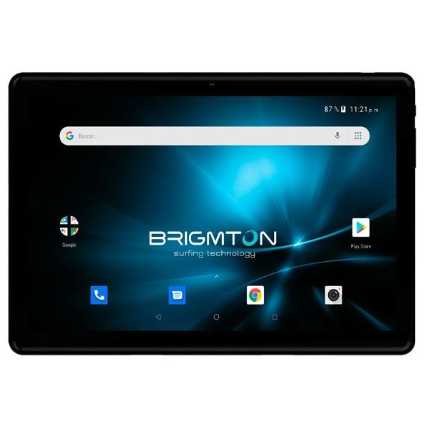 Brigmton btpc-1023oc4g-n negro tablet 4g dual sim 10'' ips fhd+/8core/32gb/2gb ram/5mp/2mp
