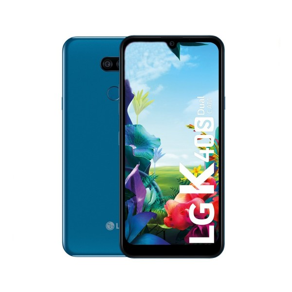 Lg k40s azul móvil 4g dual sim 6.1'' ips hd+/8core/32gb/2gb/13mp+5mp/13mp