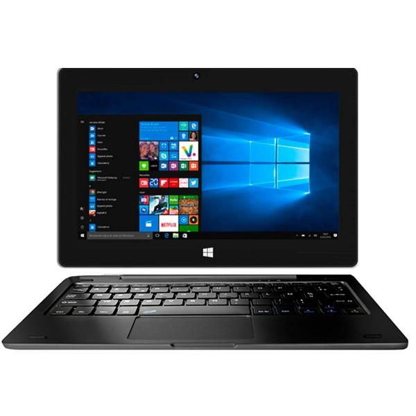 Thomson hero 10 negra tablet-pc 10.1'' táctil led ps hd celeron emmc 64gb 4gb ram windows 10 s