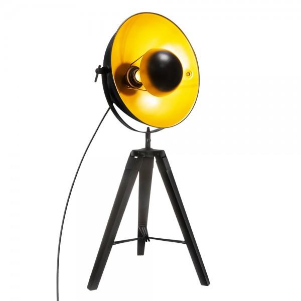 Lámpara tripode modelo 'loft lahti' negro e27